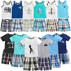 "Vaenait Baby Kids Boys Clothes Sleeveless Outfit set ""13Boys Short  Set"" 12M-7T"