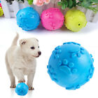Interactive Rubber Dog Ball Toys Pet Chew Play Toys for Puppies Small Dogs