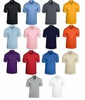 5 x Gildan DryBlend Jersey Polo Shirt Men's Work Wear Short Sleeve Plain Adult