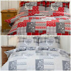 So Soft 100% Natural Brushed Cotton - Winter Bedding Set with Pillowcase