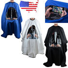 Waterproof Hair Cutting Cape Salon Hairdressing Hairdresser Gown Barber Cloth US