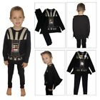Star Wars Childs Darth Vader Pyjama Set With Cape & Sound Effects Age 4-5 Years $31.53 CAD