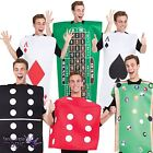 Adults Mens Ladies Casino Las Vegas USA Stag Hen Do Fancy Dress Costume Outfit