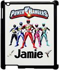 Personalised Kids Power Rangers Ipad 2/3/4 Case, Add any name!!