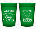 Baby Shower Plastic Cups Cup Favors (90088) Halloween, Pu...