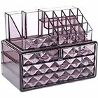 ACRYLIC MAKEUP DRAWER HOLDER JEWELLERY CASE BOX STORAGE COSMETIC ORGANIZER