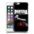 OFFICIAL PANTERA ART HARD BACK CASE FOR APPLE iPHONE PHONES