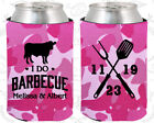 Pink Camouflage Wedding Koozies Koozie Favors Gift Ideas Decorations Gifts (33)