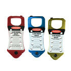 ASG BEIAN-LOCK Tagout Safety Lock Snap-On Aluminum 10 Hole Hasp Lockouts