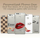 PERSONALISED INITIALS FASHION LIPS SHOES CUSTOM MADE GEL PHONE CASE FOR HUAWEI