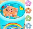 Inflatable Baby Swimming Accessories Neck Ring Tube Safety Infant Bathing Rings