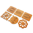 Wooden Coasters Kitchen And Thicken The Hot Eat Mat Antiskid Pot Pad Bowl PlateJ
