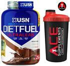 USN Diet Fuel Ultralean Whey Protein Weight Loss Management 2kg + Free shaker