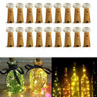 Lots 10/20/50 20Leds Cork Shaped String Light Starry Light Bottle Lamp W/battery