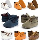Toddler Kids Baby Boys Girls Soft Sole Crib Shoes Boots Anti-slip Sneakers 0-18M
