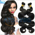 Indian Body Wave Curly Hair Virgin Human Hair Extension Weave 3 Bundles 150g all