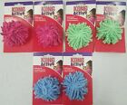 Kong Active Moppy Ball cat toy - Rattles Sound - Soft - All Colors (Pack of 2)