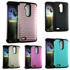 Diamond Bling Shockproof Cover Case For ZTE Max XL / Blade Max 3 / ZMax Pro 2