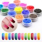 THERMOCHROMIC PIGMENT THERMAL COLOR CHANGE TEMPERATURE NAIL ART POWDER DUST BOX