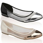 15U DOLCIS WOMENS MESH FLAT LADIES BALLERINA BALLET PUMPS DOLLY SHOES SIZE 3-8