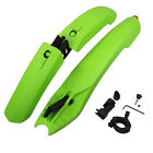 Bicycle Cycling Front & Rear Mud Guards Set Mountain Bike Fenders LED Tail Light