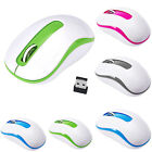 2.4GHz Portable Light Weight 1600DPI USB Optical Mini Wireless Mouse For Laptop