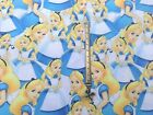 ALICE IN WONDERLAND Inspired Poly/Cotton Fabric FQ OR 0.5 MTRX143CM WIDE FreeP&P