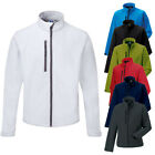 New Russell Mens Casual Soft Shell Side And Chest Pockets In 6 Colours XS - 4XL