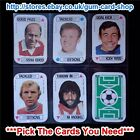 ☆ A&BC 1972 Football Card Game (G) *Pick The Cards You Need*