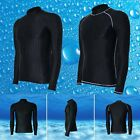 Mens Anti-UV Swimwear Snorkeling Suit Swimming Surfing Diving Tops Clothing