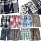 """TINFL Boys Plaid Check 100% Cotton Flannel Lounge Short Pants """"BSP"""" 6-14Years"""