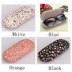Chic Floral Sunglasses Hard Eye Glasses Case Eyewear Protector Box Pouch Bag