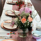Wholesale Luxury Rose Gold Sequin Table Runners for Wedding Table,Choose Sizes