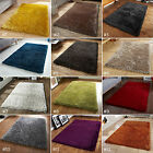 SMALL - LARGE SHAGGY THICK SOFT LONG DEEP PILE LUXURY MONTE CARLO COLOURFUL RUGS