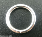 Wholesale Lots Gifts Silver Plated Open Jump Rings 12x1.5mm