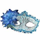 Halloween Venetian Masquerade Lace Diamond Flower Mask for Party,Prom,Mardi Gras
