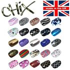 Salon Quality Professional NAIL WRAPS Foils Stickers Vinyl Decals Beauty UK 1
