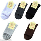 Mens Business Casual Everyday Socks Pure Color Breathable Cotton Warm Socks GIFT