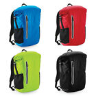 Unisex Quadra TearAway Label Laptop Compartment Tech Roll-Top Backpack One Size