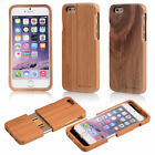 Shockproof Natural Wood Wooden Bamboo Hard Back Case Covers iPhone 7/ 6S/ Plus