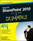 SHAREPOINT 2010 ALL-IN-ONE FOR DUMMIES - NEW PAPERBACK BOOK