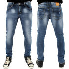 Sreetwear Ace Low Skinny Stretch Denim Jeans Stone Wash B122