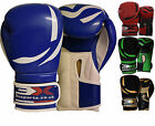 Boxing Gloves KickBoxing Training Punching Mitts MMA Bag Muay Thai oz 3X Sports