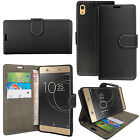 Leather Flip Case Wallet Stand Cover For Sony Xperia Experia Mobile Phone New New