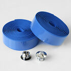 Cycling Road Cycle Bike MTB Cork Bar Grip Wrap Handlebar Ribbon Tape +2 Bar plug