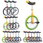 Unicycle Chrome Wheel Cycling Scooter Circus Leakproof Butyl Tire Sports Fitness