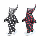 Boys girlsToddle cotton-padded pants suit 1-3Y hooded Siamese snowsuit outerwear