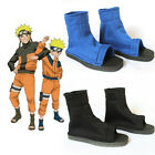 Cosplay Shoes Blue Black Fuu Cosplay Party Ninja Shoes Boots Costume Fashion JR
