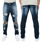 Loyalty & Faith Mens Slim Stretch Fit Ripped Distressed Jeans Trousers Pants