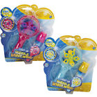 BUBBLE LED LIGHT UP BUBBLES WHIRLWIND WAND CHILDRENS KIDS TOY OUTDOOR FUN TRAY